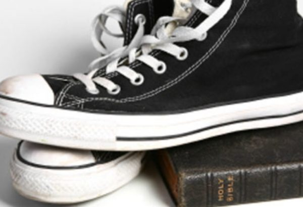 sneakers and bible