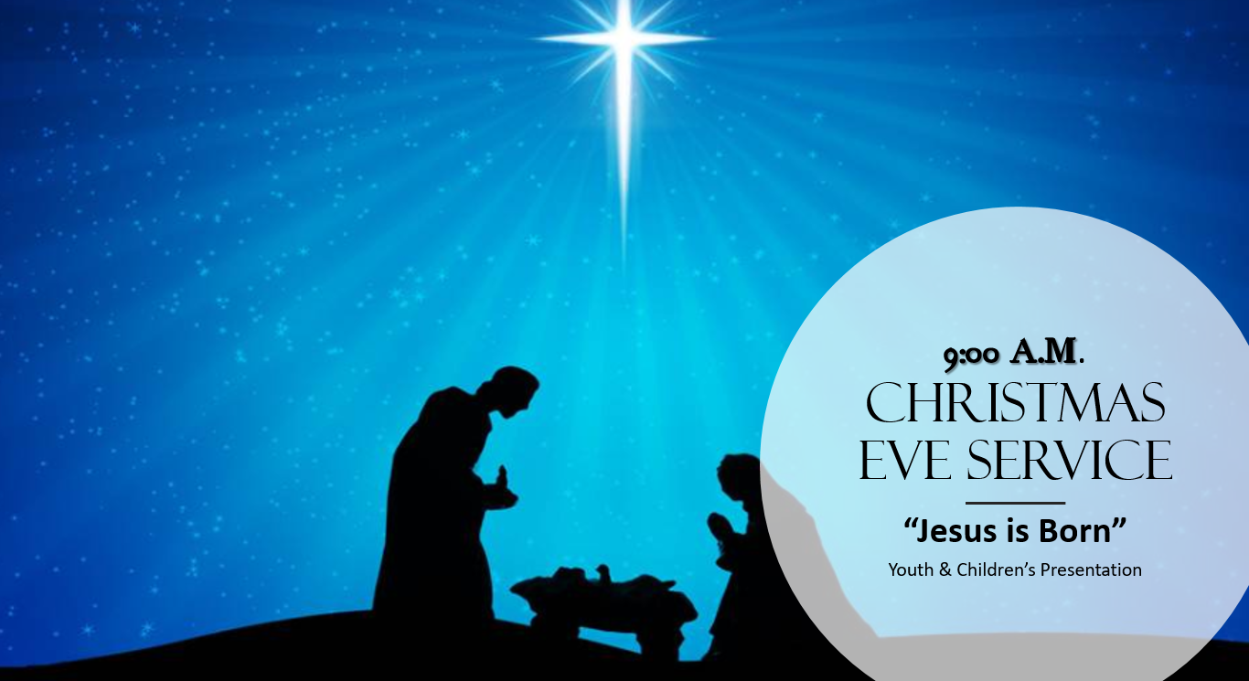 the childrens ministry will host a special presentation jesus is born and praise dance on christmas eve - Christmas Praise Dance