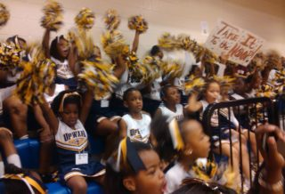 uPWARD cHEERLEADERS 2012
