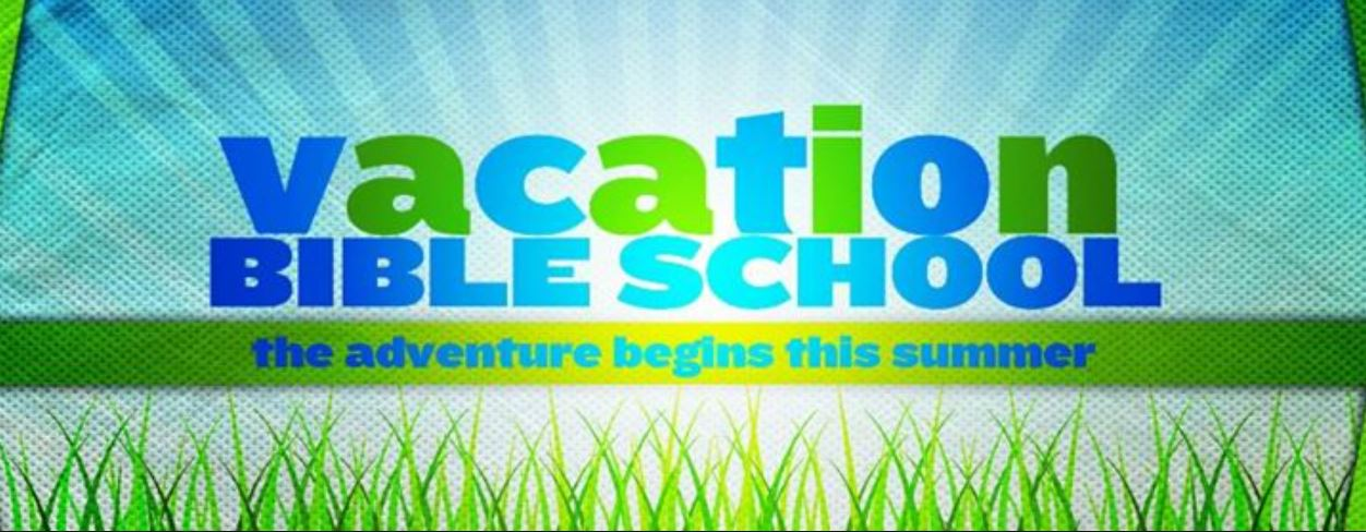 VBS June 3-6 2019 REGISTER NOW! (CLICK HERE)