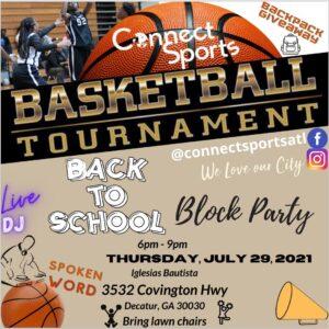 2021 ConnectsportsATL Block Party July 29